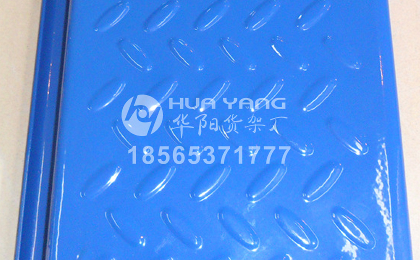 藍色鋼扣板